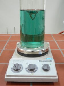 Chemie moderne Geraete