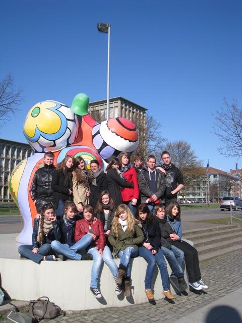 Französische Gruppe in Hannover